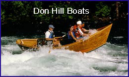 Wooden Boat Kits from Don Hill