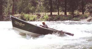 The McKenzie driftboat was designed for this type of water