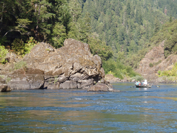 "Rogue River ""Wild and Scenic River"""