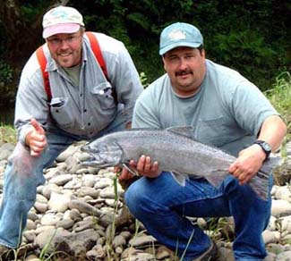 A happy Oregon Fishing Trip, Oregon Salmon Fishing